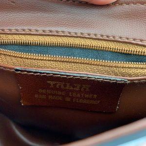 Vintage Bags - Talja Vintage Italian Leather Equestrian Purse